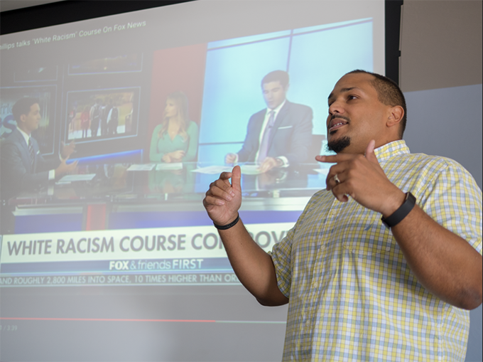Why I teach a course called 'White Racism'